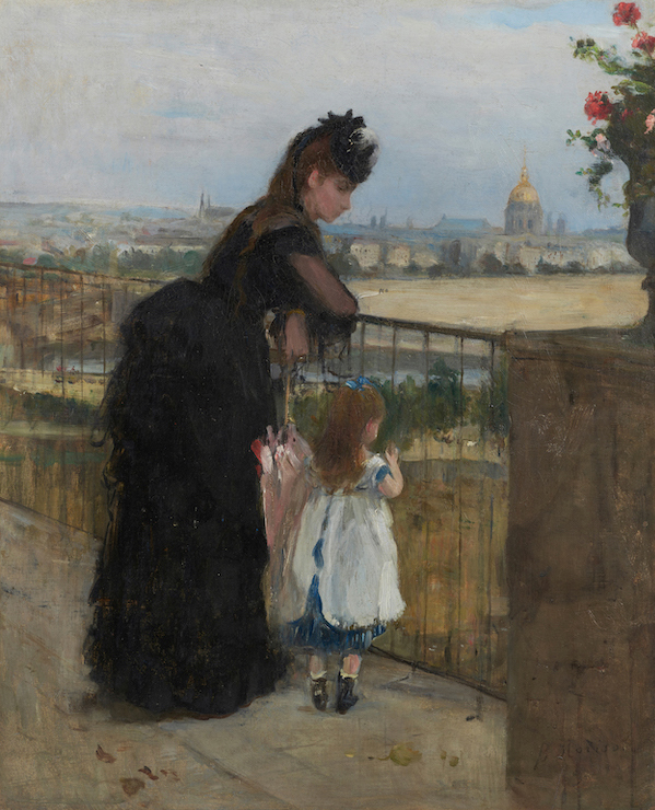 Berthe MORISOT《Woman and Child on the Balcony》1872