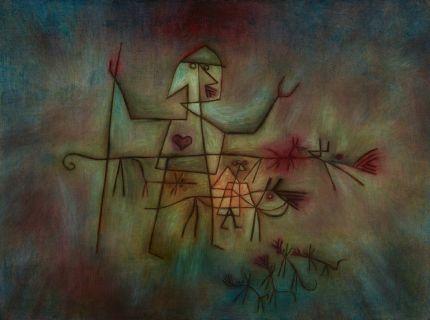 《羊飼い》 1929年 油彩・カンヴァス(合板に貼付) 49.8×67.0cm