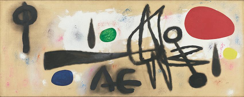 Joan MIRÓ《Painting》1952 <br /> ©Successió Miró / ADAGP, Paris & JASPAR, Tokyo, 2020 C3379