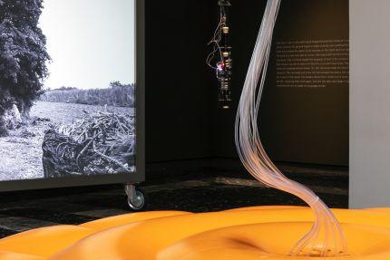日本館展示風景<br /> (撮影:ArchiBIMIng/写真提供:国際交流基金)