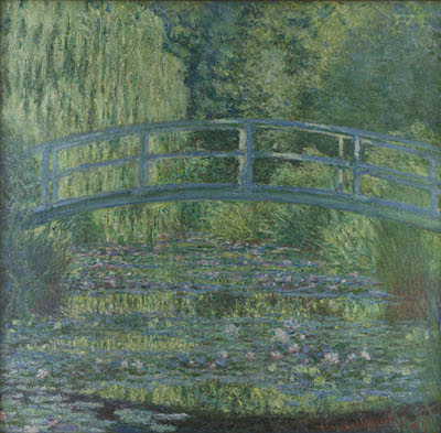 Claude Monet《Water-Lily Pond, Symphony in Green》1899, Musée d'Orsay<br /> Photo© RMN-Grand Palais (musée d'Orsay) / Stéphane Maréchalle / distributed by AMF