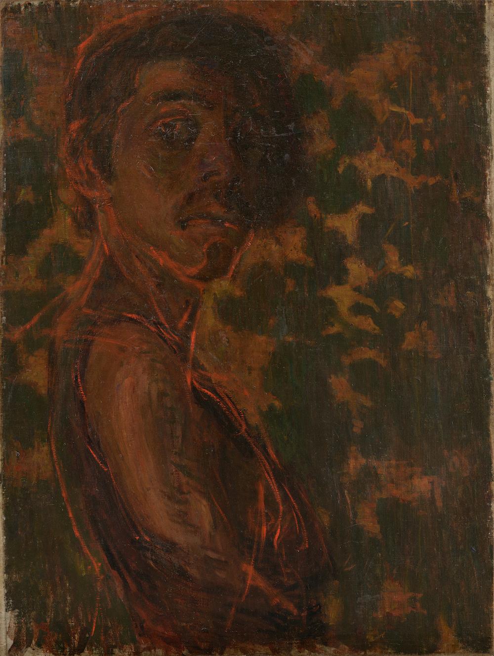 AOKI Shigeru《Self-Portrait》 1903, the Artizon Museum, Ishibashi Foundation Collection