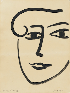 Henri MATISSE《Jacquy》1947