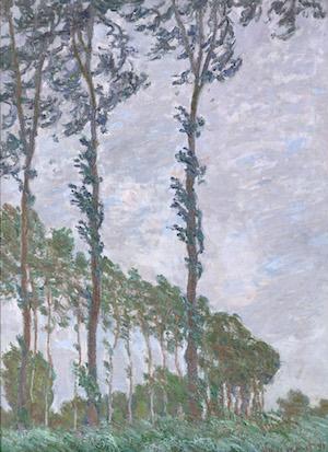 クロード・モネ《エプト川のポプラ並木、風の日》1891 年 油彩・カンヴァス オルセー美術館蔵<br /> Photo © Musée d'Orsay, Dist. RMN-Grand Palais / Patrice Schmidt / distributed by AMF