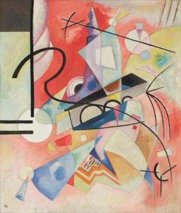 Wassily KANDINSKY《Self-Illuminating》1924