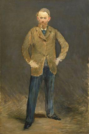 エドゥアール・マネ《自画像》油彩・カンヴァス1878-79年