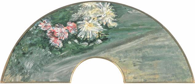 エドゥアール・マネ《白菊の図》1881年頃 茨城県近代美術館蔵