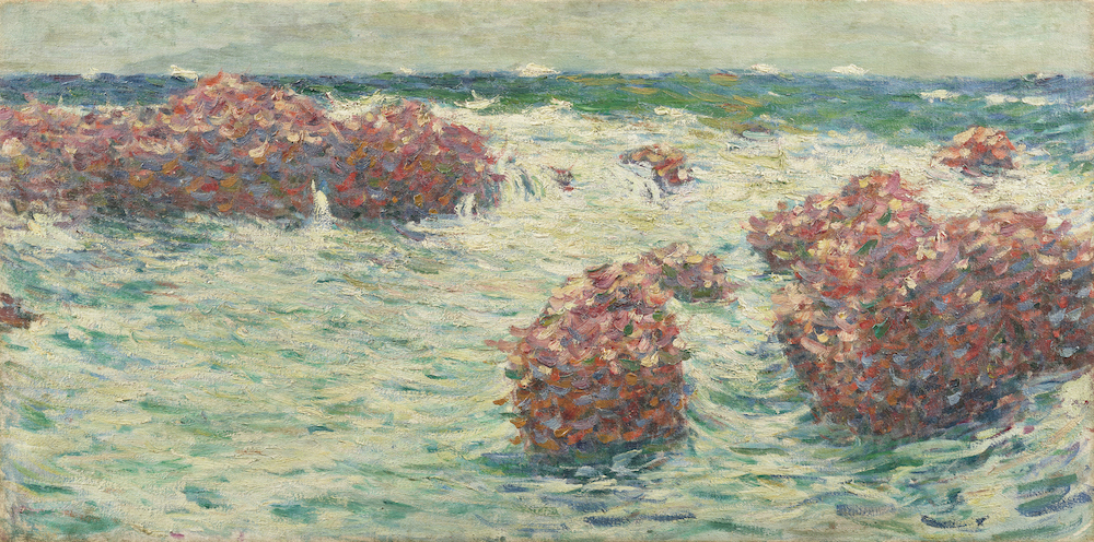 青木繁《海》1904年 石橋財団アーティゾン美術館蔵
