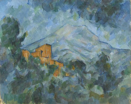ポール・セザンヌ《サント=ヴィクトワール山とシャトー・ノワール》1904-06年頃