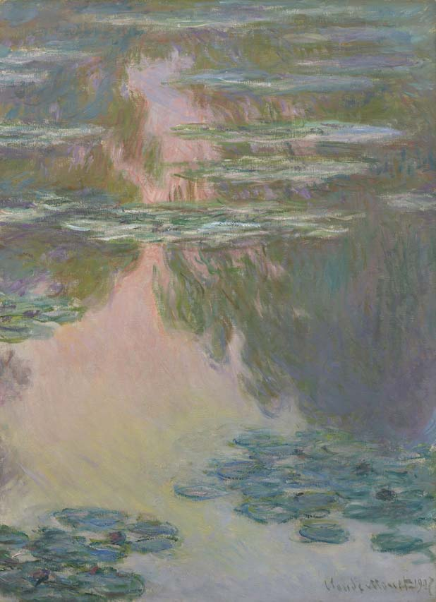 Claude MONET《Water Lily Pond》1907,Artizon Museum, Ishibashi Foundation