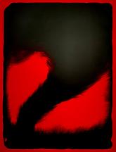 《Red tornado》lithograph 2020