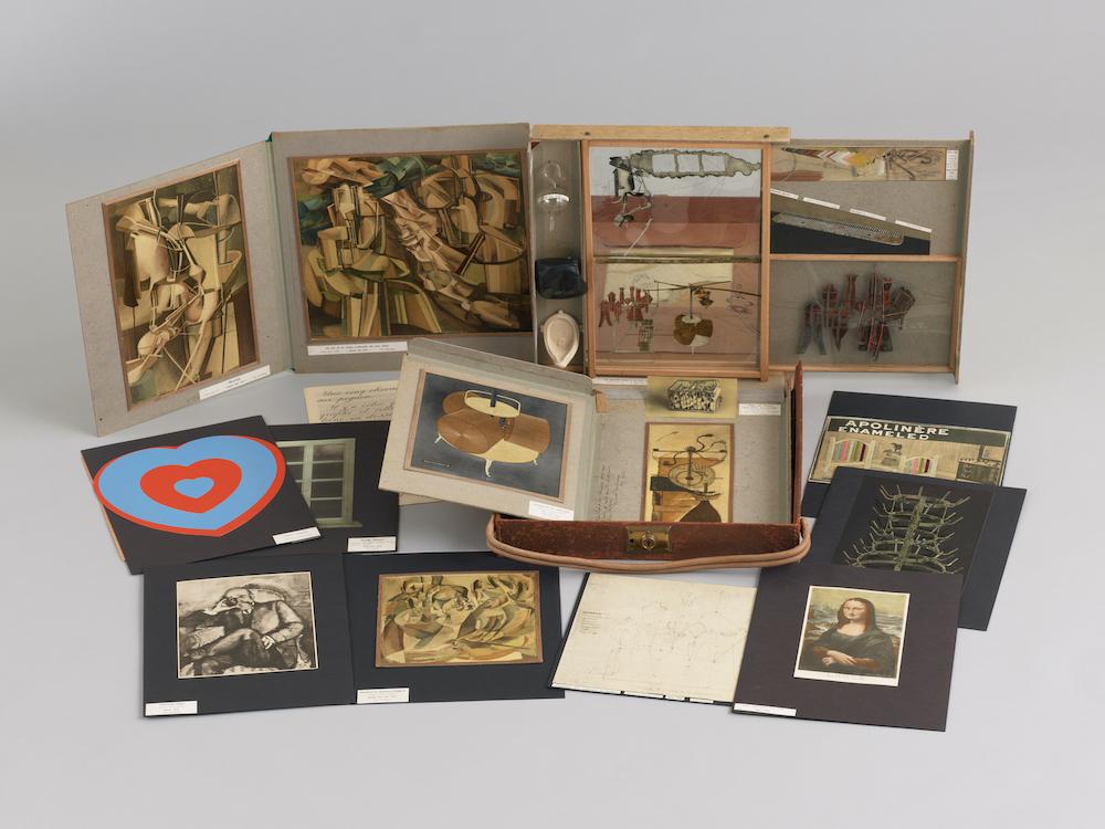 マルセル・デュシャン《マルセル・デュシャンあるいはローズ・セラヴィの、または、による(トランクの箱)シリーズB》1952年, 1946年(鉛筆素描)<br /> © Association Marcel Duchamp / ADAGP, Paris & JASPAR, Tokyo 2021 C3624